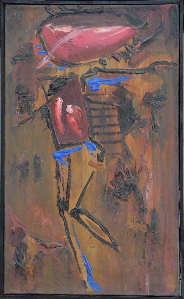 """Tadeusz Brzozowski (1918-1987) """"Kompozycja"""", źródło: Art Torg"""