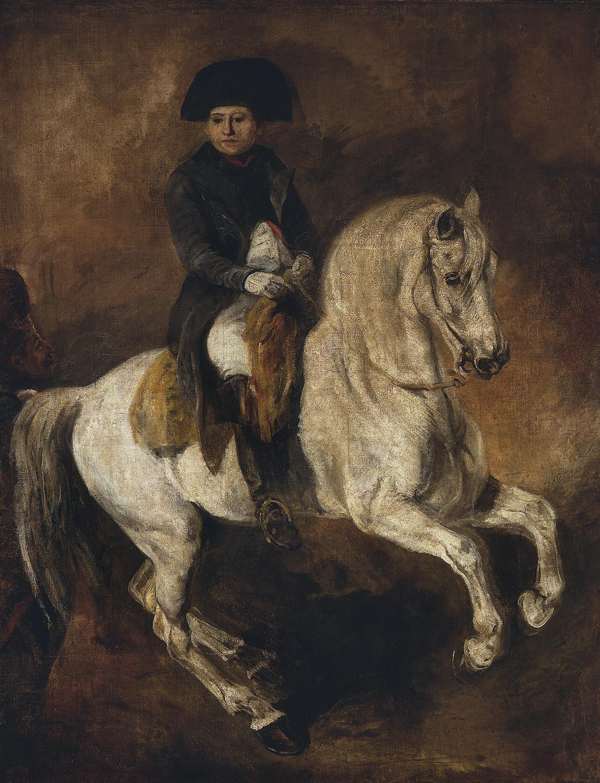 """Piotr Michałowski """"Napoleon na koniu"""", źródło: Muzeum Narodowe w Warszawie"""