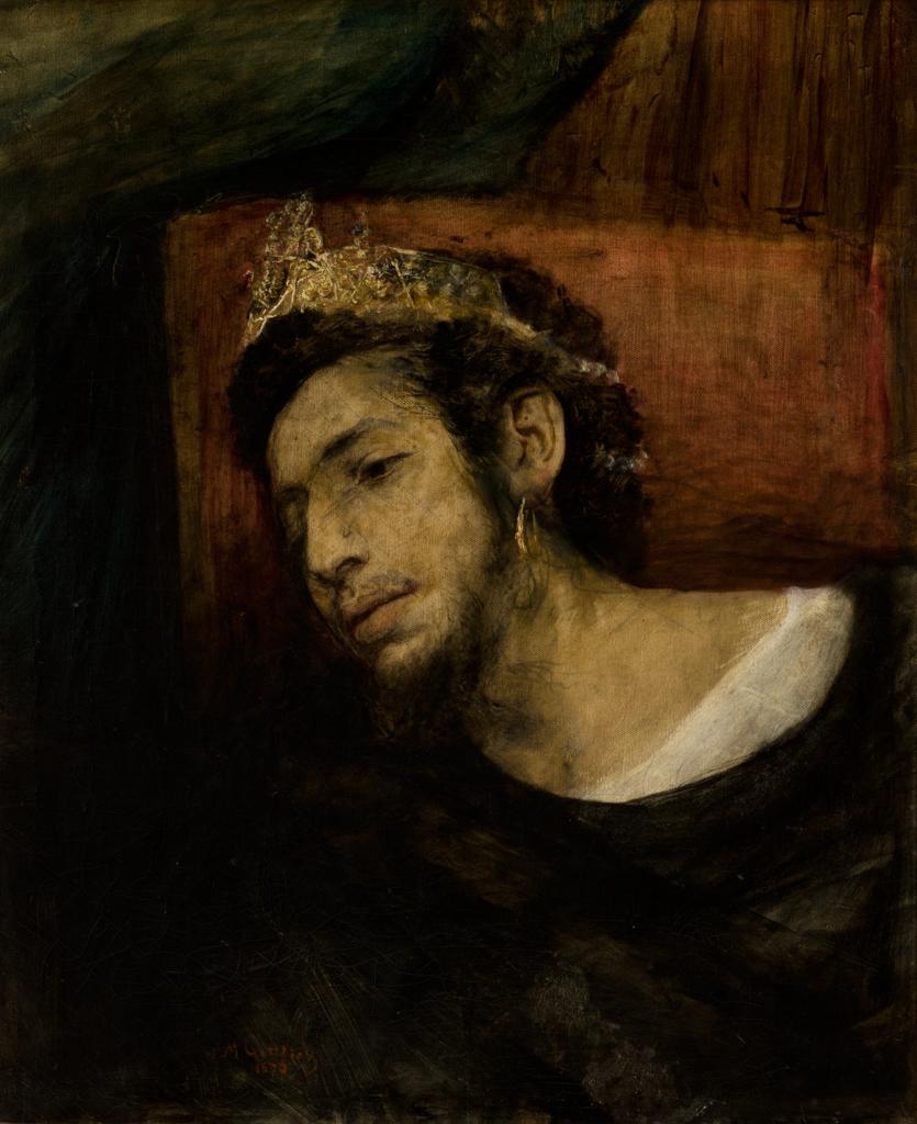 """Maurycy Gottlieb """"Ahaswer"""", 1876 rok, źródło: Muzeum Narodowe w Krakowie"""