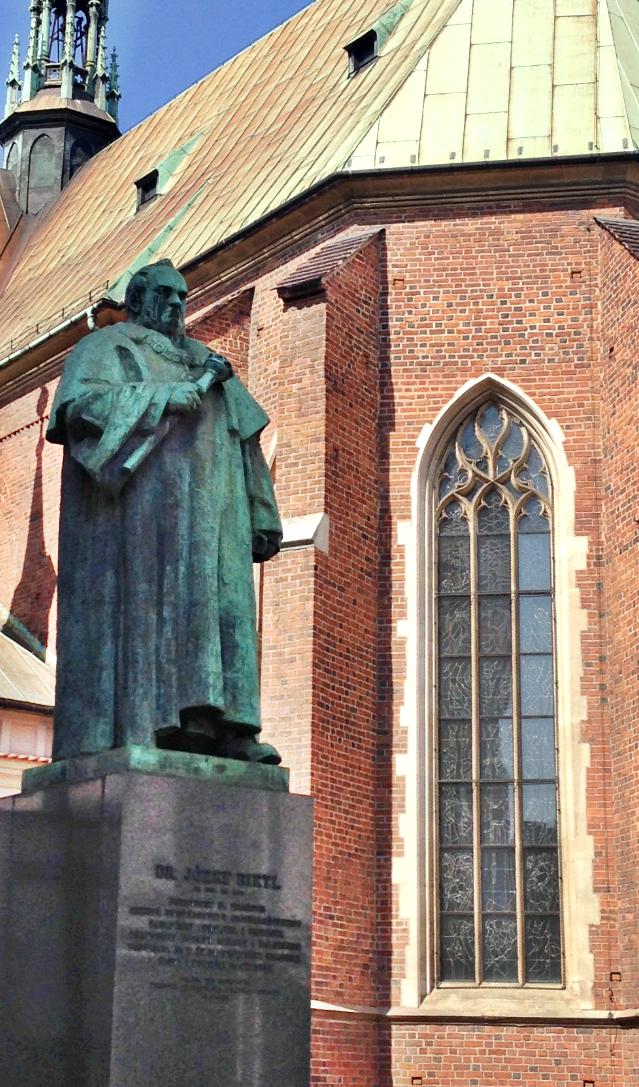 Pomnik prezydenta Józefa Dietla w Krakowie autorstwa Xawerego Dunikowskiego, źródło: materiały własne autorki
