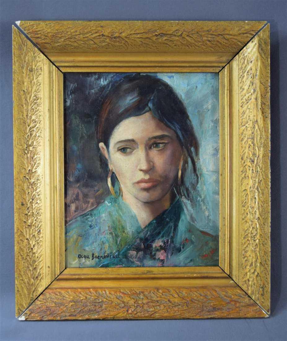 """Olga Boznańska (1865-1940) """"Portret"""", źródło: Black River Auction"""