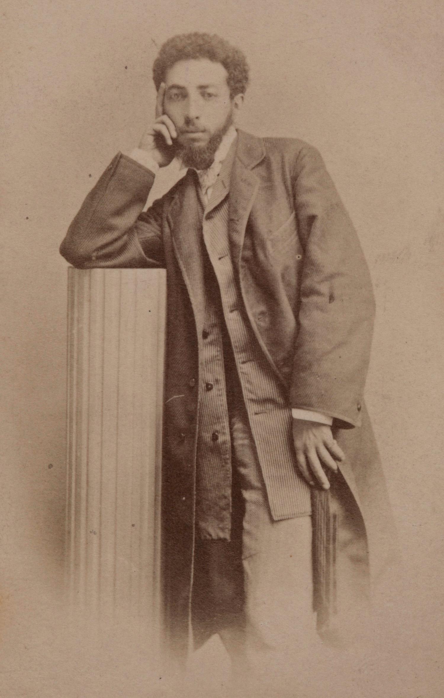 Zdjęcie portretowe Maurycego Gottlieba, źródło: Muzeum Narodowe w Krakowie