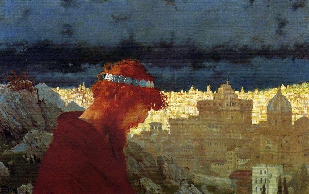 """Edward Okuń, """"Judasz"""", 1901 rok, źródło: Muzeum Narodowe w Warszawie"""