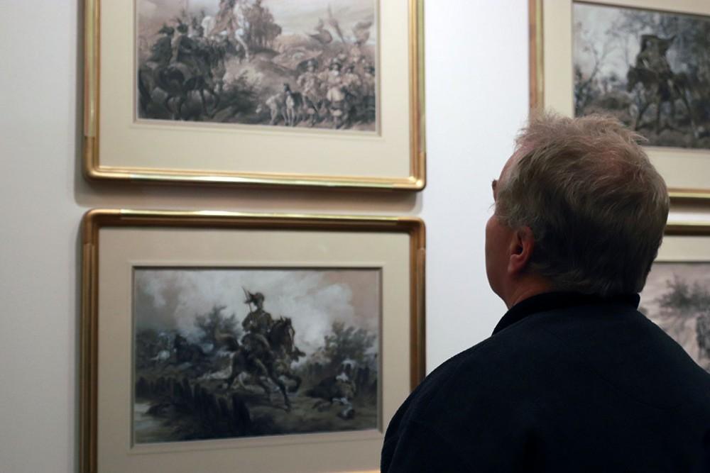 Wystawa prac Juliusza Kossaka w Muzeum Okręgowym w Suwałkach, źródło: suwalki24.pl
