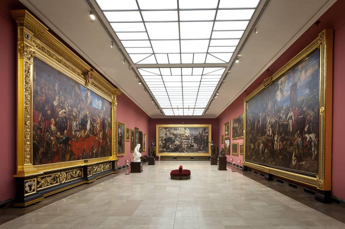 Sala Siemiradzkiego w Muzeum Narodowym w Krakowie w Sukiennicach, źródło: mnk.pl