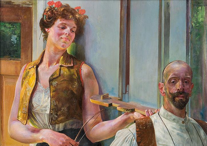 """Jacek Malczewski """"Zauroczenie"""", 1906 rok, źródło: Agra-Art"""
