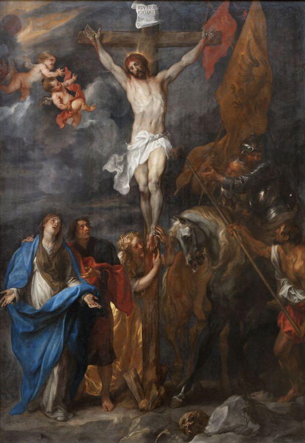 """Anton van Dyck """"Ukrzyżowanie"""" (z ołtarza kościoła św. Michała w Gandawie)"""
