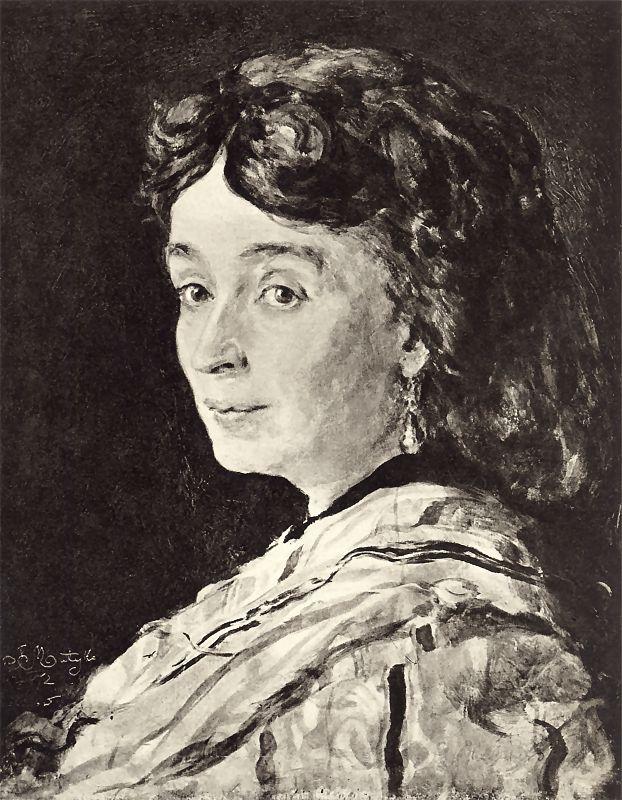 """Jan Matejko """"Portret Ludwiki Groppler"""", 1872 rok, źródło: Muzeum Pomorza Zachodniego w Szczecinie"""