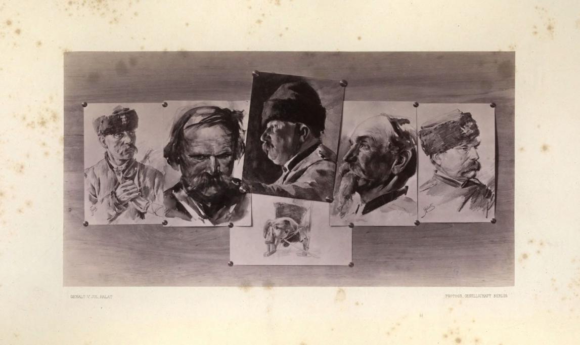 Souvenir de chasse à l'ours donné à Nieśwież (grafika wg J. Fałata), źródło: Łowiecka Biblioteka Cyfrowa Krzysztofa Daszkiewicza