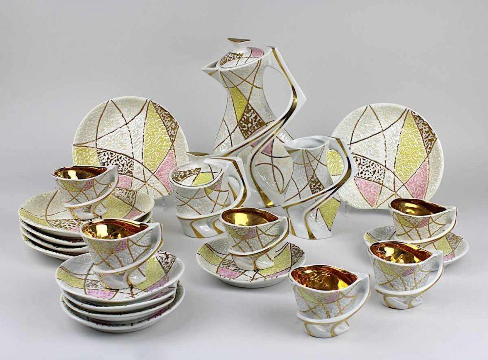 """Wytwórnia wyrobów ceramicznych Steatyt Katowice Serwis """"Kalipso"""",  źródło: Auktionshaus Saarbrücken GmbH"""
