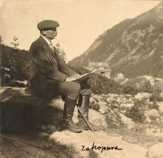 Leon Wyczółkowski w Zakopanem, źródło: wyczolkowski.pl