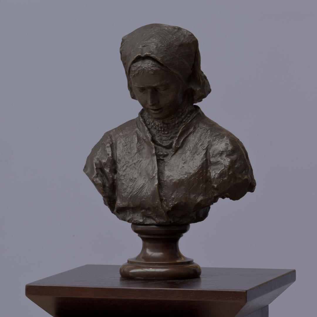 """Leon Wyczółkowski """"Natałka"""", projekt 1893 rok, odlew 1896 rok, źródło: Muzeum Narodowe w Krakowie"""