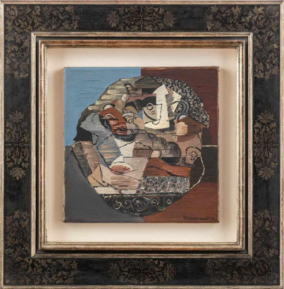 """Louis Marcoussis (1871-1941) """"Nimes"""", źródło: Leo Spik"""
