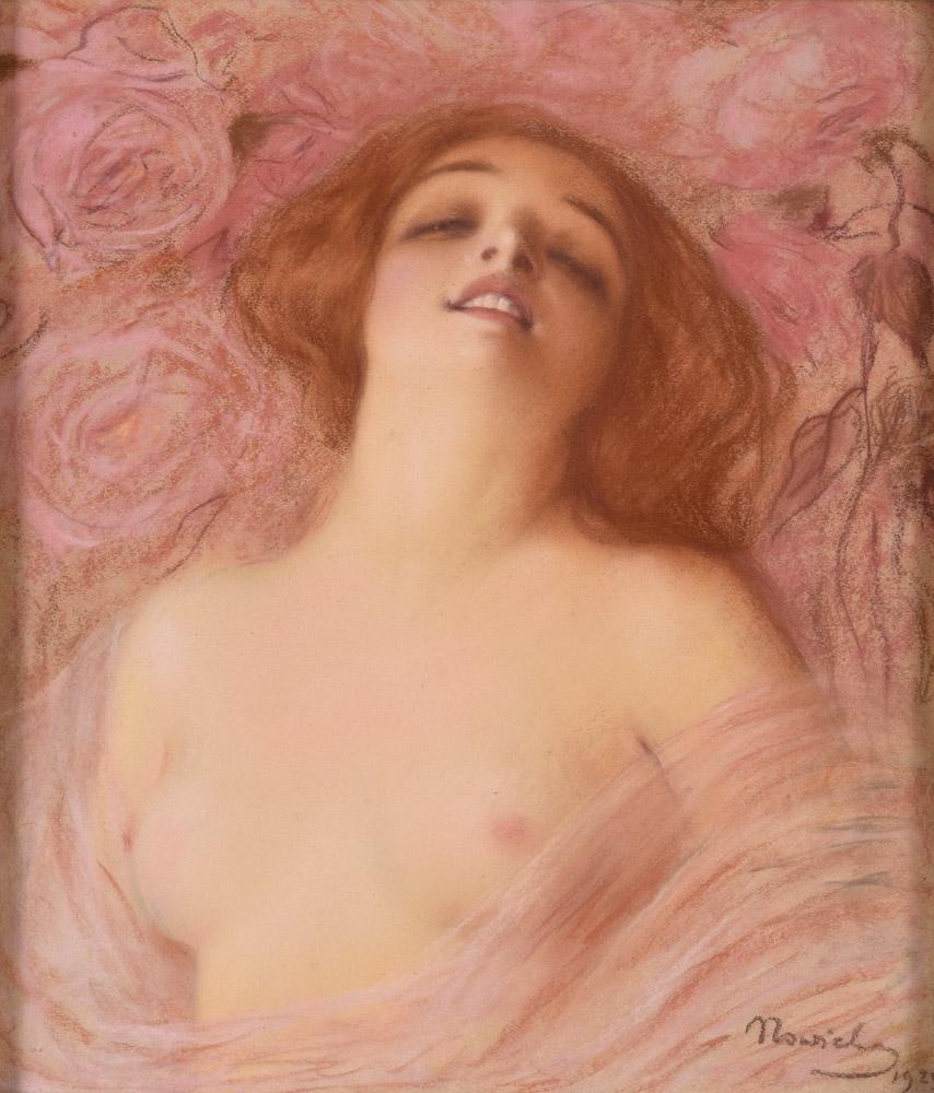 """Michalina Nowicka Kwiatkowska (1877-1932) """"Ekstaza"""", źródło: Duesseldorfer Auktionshaus"""