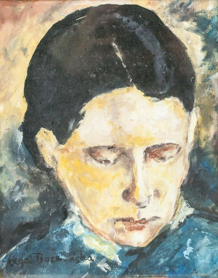 """Olga Boznańska (1865-1940) """"Portret dziewczyny"""", źródło: 888 Auctions"""
