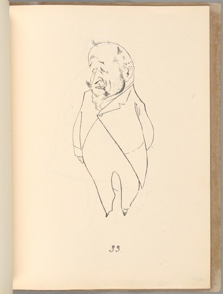 """Kazimierz Sichulski, """"Österreichischer Reichstat in Karikaturen"""", 1912 rok, źródło: Muzeum Narodowe w Krakowie"""