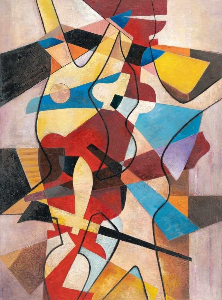 "Maria Jarema (1908-1958) ""Kompozycja VI"", źródło: Karl & Faber"