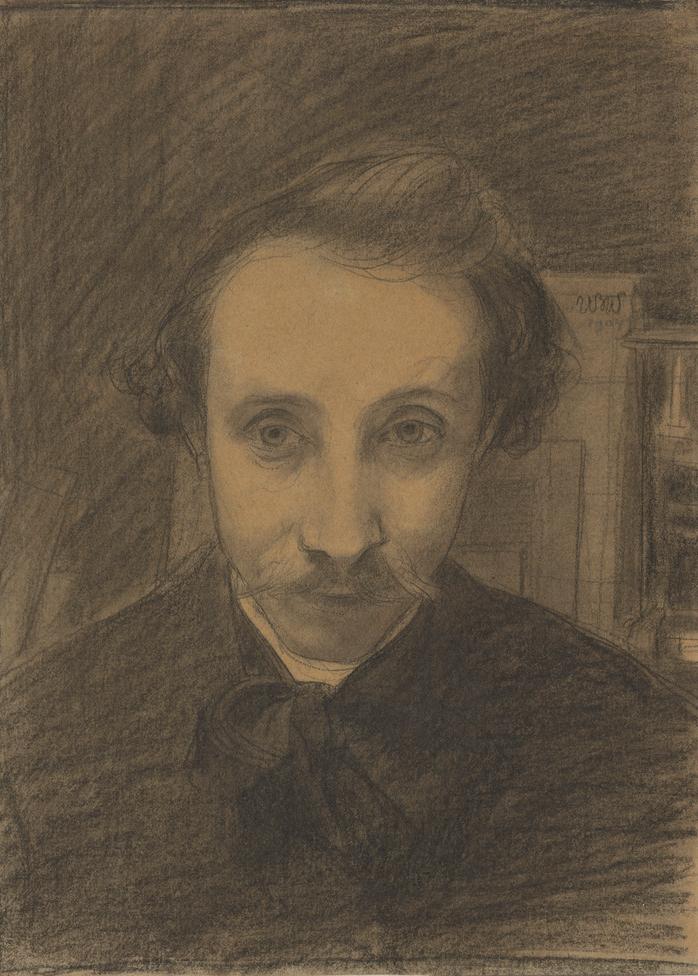 """Wojciech Weiss """"Autoportret"""", 1904 rok, źródło: Muzeum Narodowe w Krakowie"""