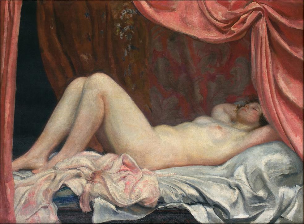 """Wojciech Weiss """"Helena. Akt"""", przed 1923 rokiem, źródło: Agra-Art"""