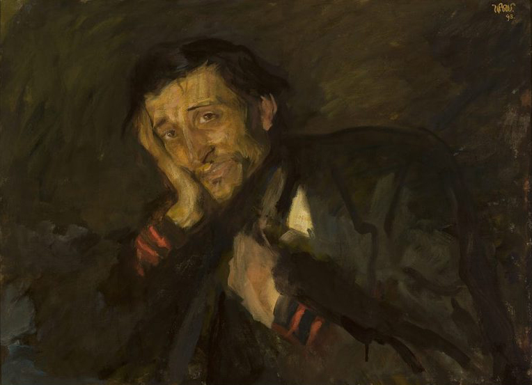 """Wojciech Weiss """"Suchotnik"""", 1898 rok, źródło: Muzeum Narodowe w Warszawie"""
