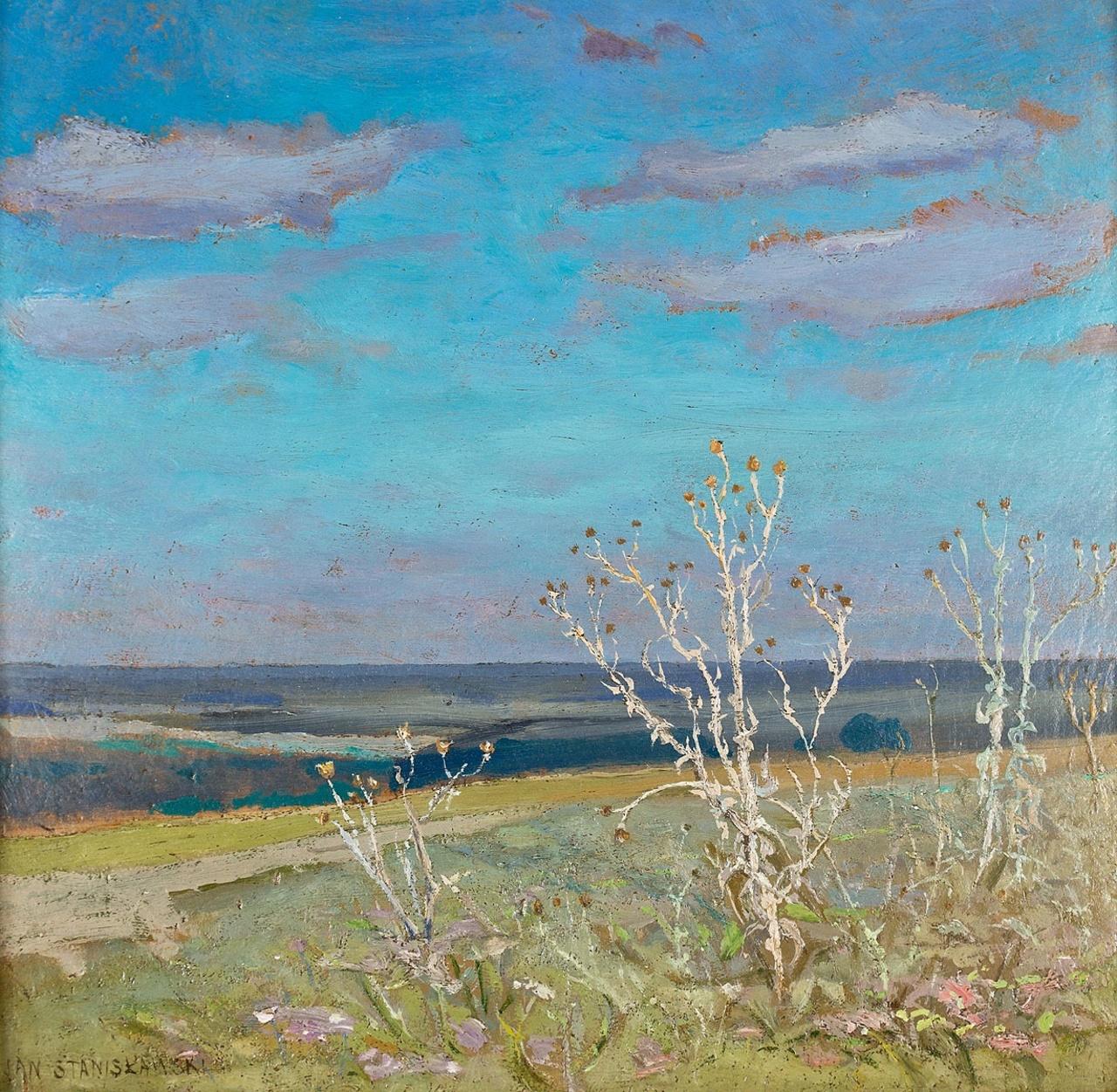 """Jan Stanisławski """"Bodiaki"""", źródło: Polswiss Art"""