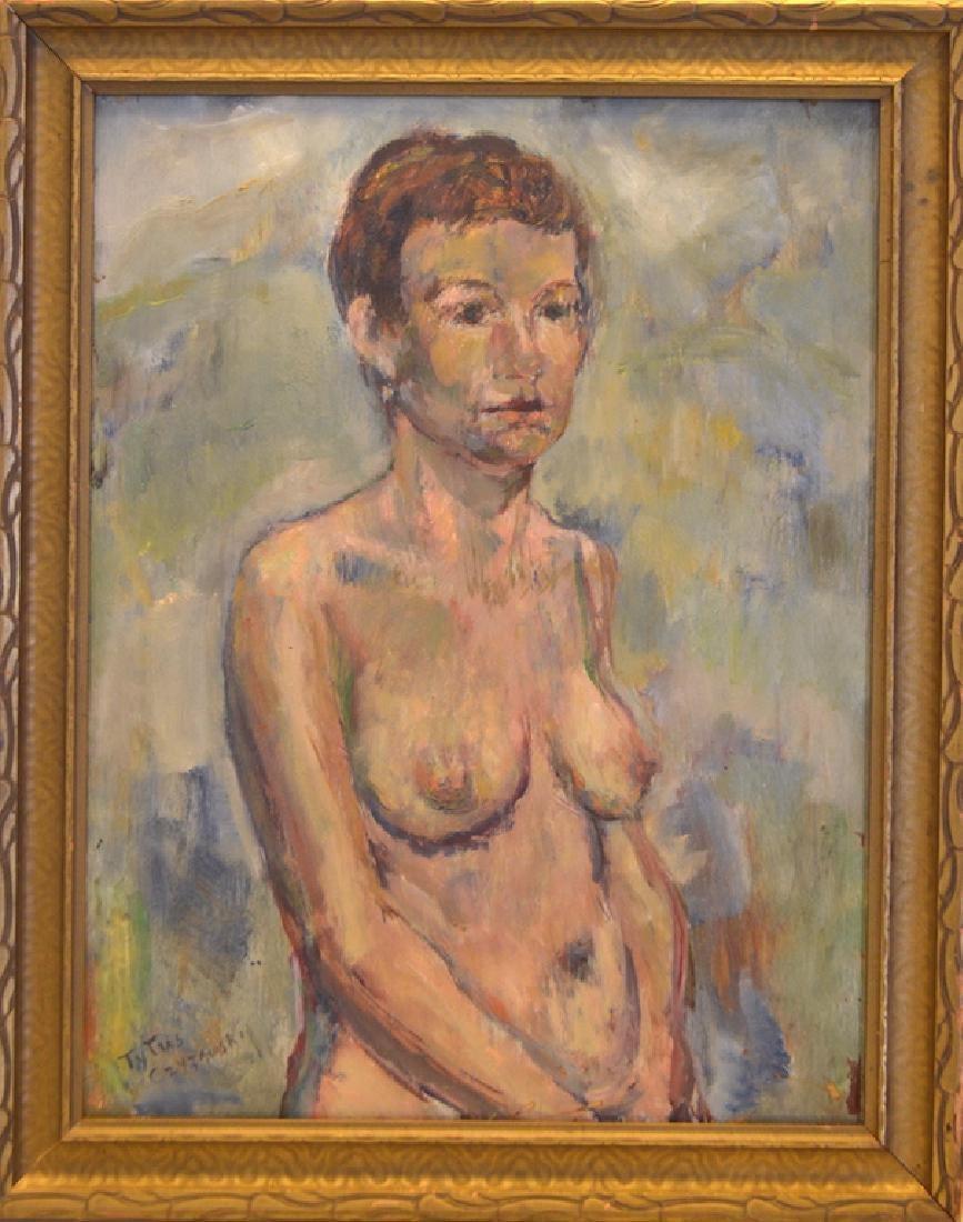 """Tytus Czyżewski (1880-1945) """"Kompozycja abstrakcyjna"""", źródło: Art Torg"""