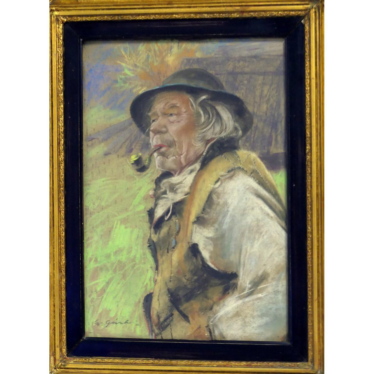 """Stanisław Górski (1887-1955) """"Stary Józwa"""", źródło: Antiques & Modern Auction Gallery"""