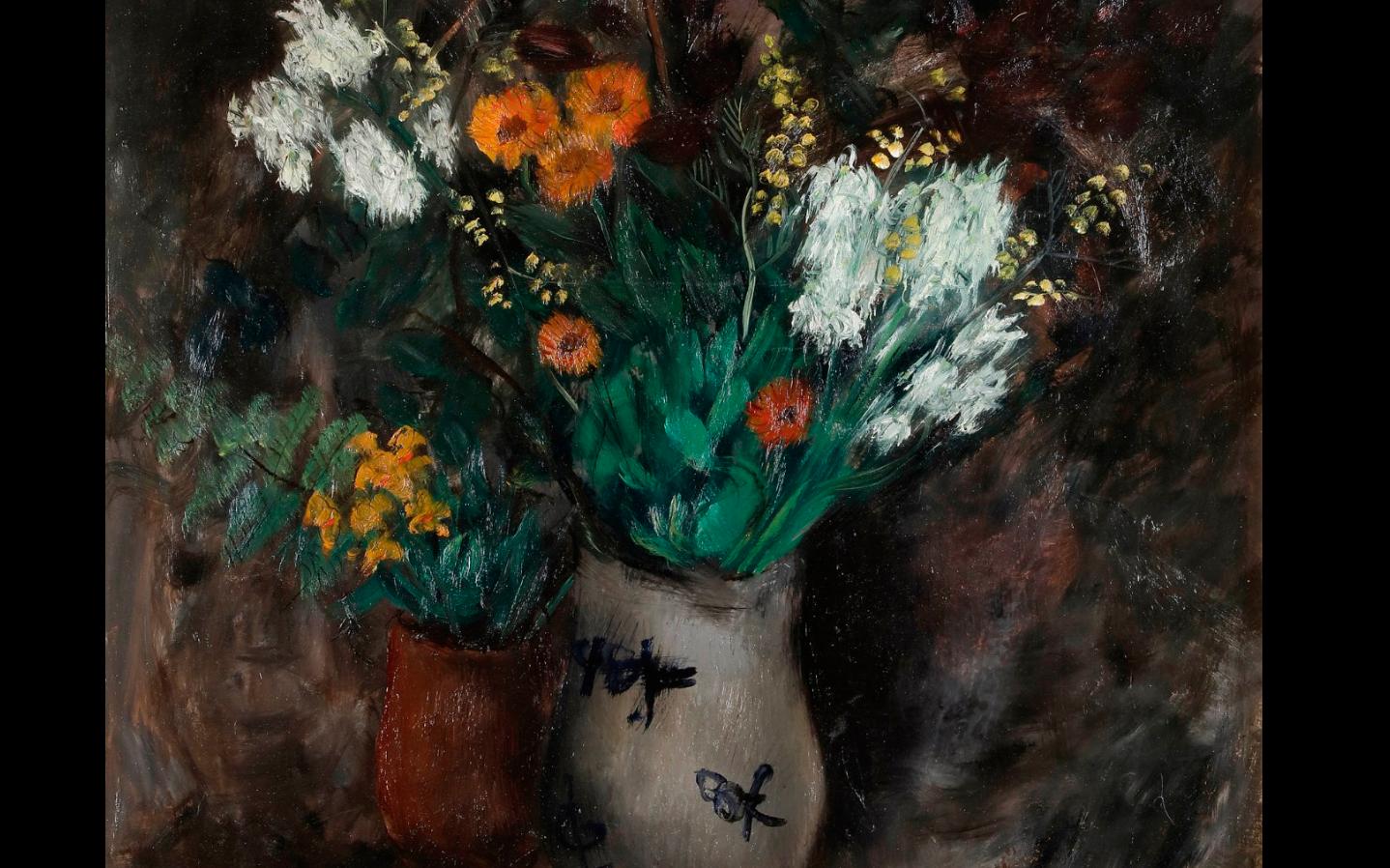 """Joachim Weingart (1895-1942) """"Bukiet polnych kwiatów"""", źródło: Ader Nordmann & Dominique"""