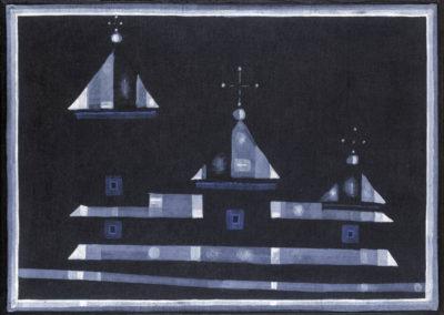 """Jerzy Nowosielski (1923-2011) """"Cerkiew"""", źródło: Agra-Art"""