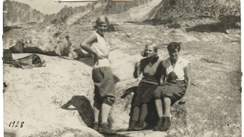 Siostry Skotnicówny w Tatrach, źródło: Muzeum Tatrzańskie w Zakopanem