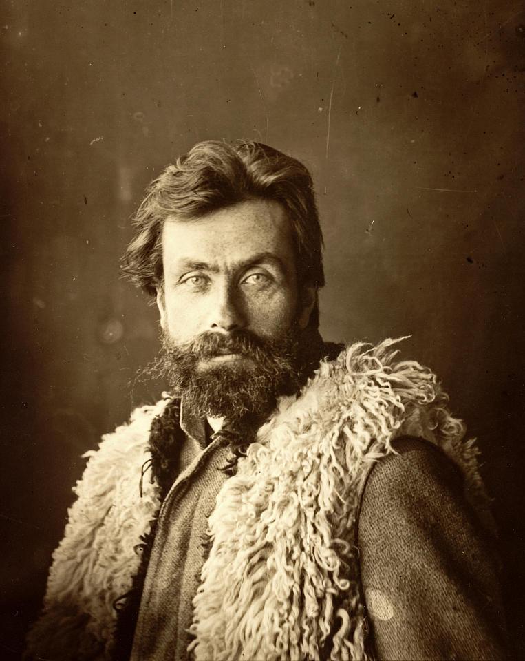 Fotografia portretowa Stanisława Witkiewicza, źródło: Muzeum Tatrzańskie w Zakopanem