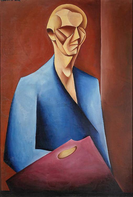 """Mieczysław Szczuka (1898-1927) """"Autoportret"""", 1920 rok, źródło: Muzeum Narodowe w Warszawie"""