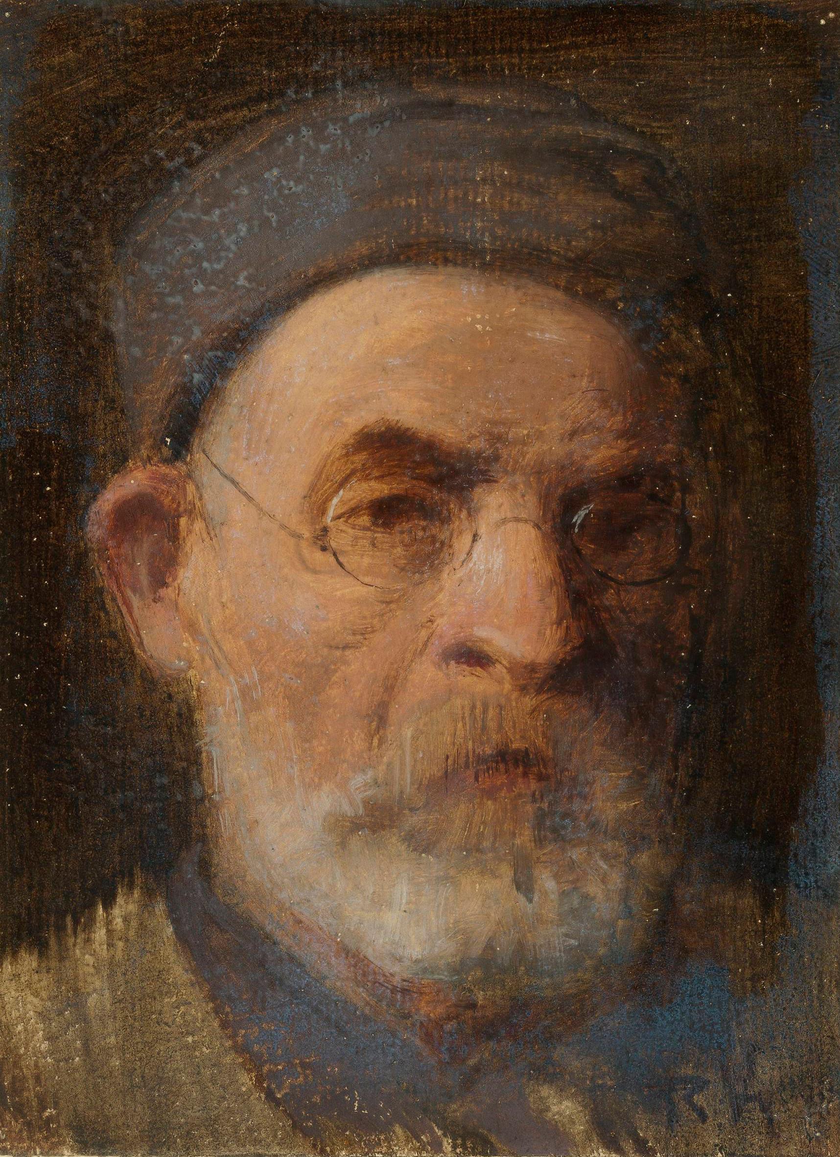 """Roman Kochanowski (1857-1945) """"Autoportret"""", źródło: Muzeum Narodowe w Warszawie"""