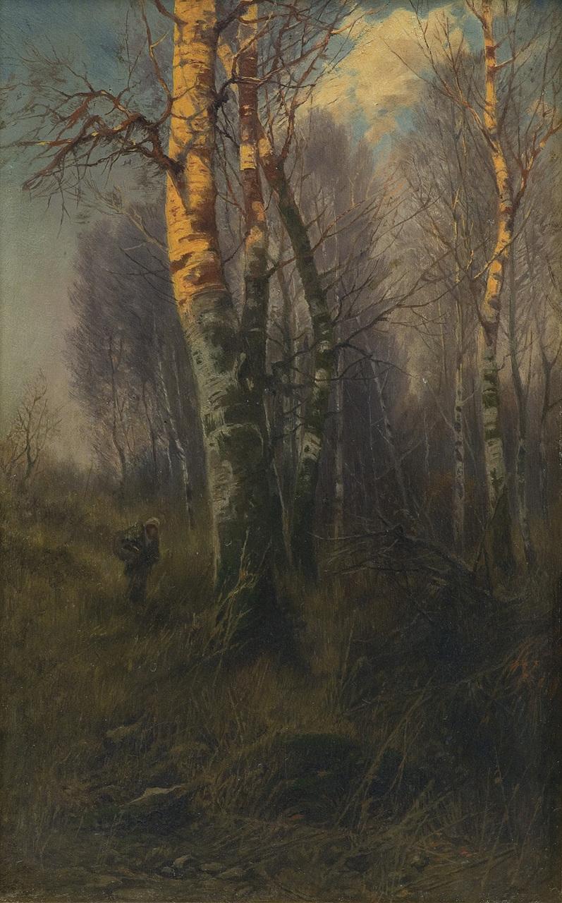 "Roman Kochanowski (1857 - 1945) ""Chrust"", 1895 rok, źródło: Agra-Art"