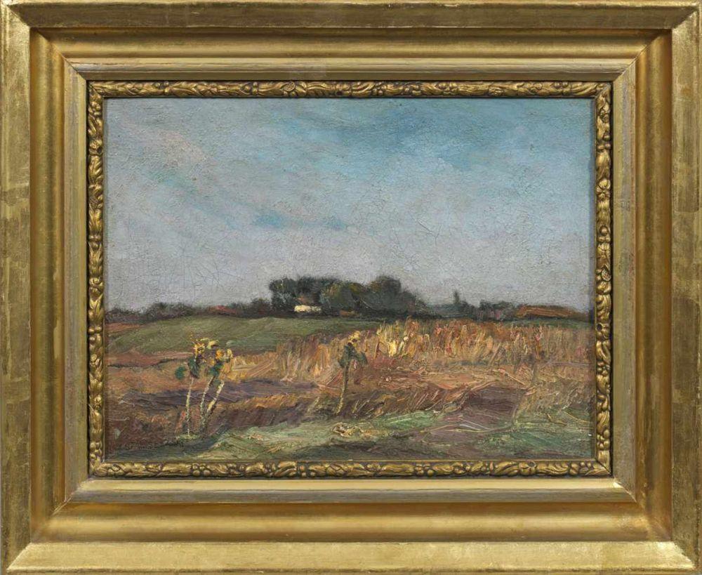 """Jan Stanisławski (1860-1907) """"Letni pejzaż"""", źródło: Kunstauktionshaus Schloss Ahlden"""