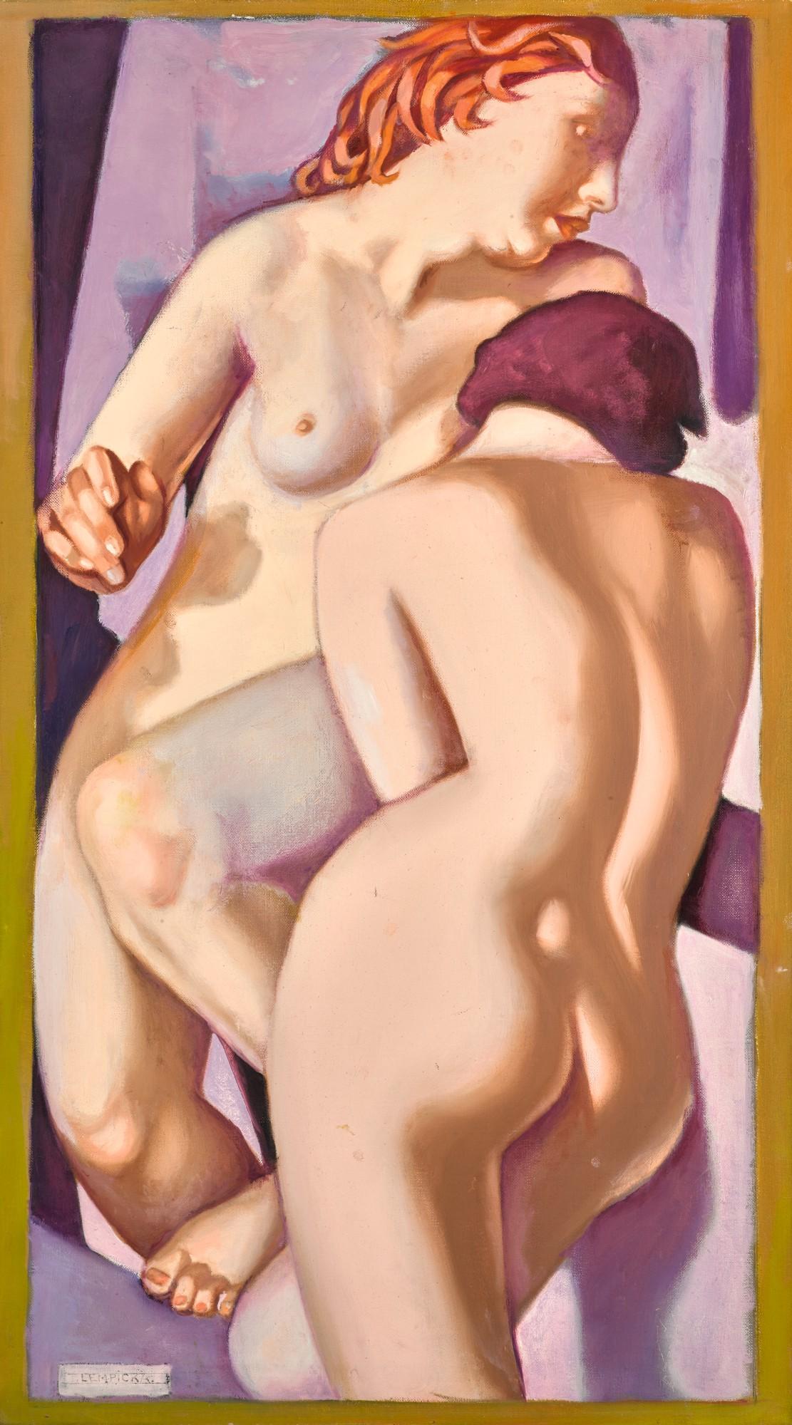 """Tamara Łempicka (1898-1980) """"Dwie przyjaciółki"""", źródło: Sotheby's"""