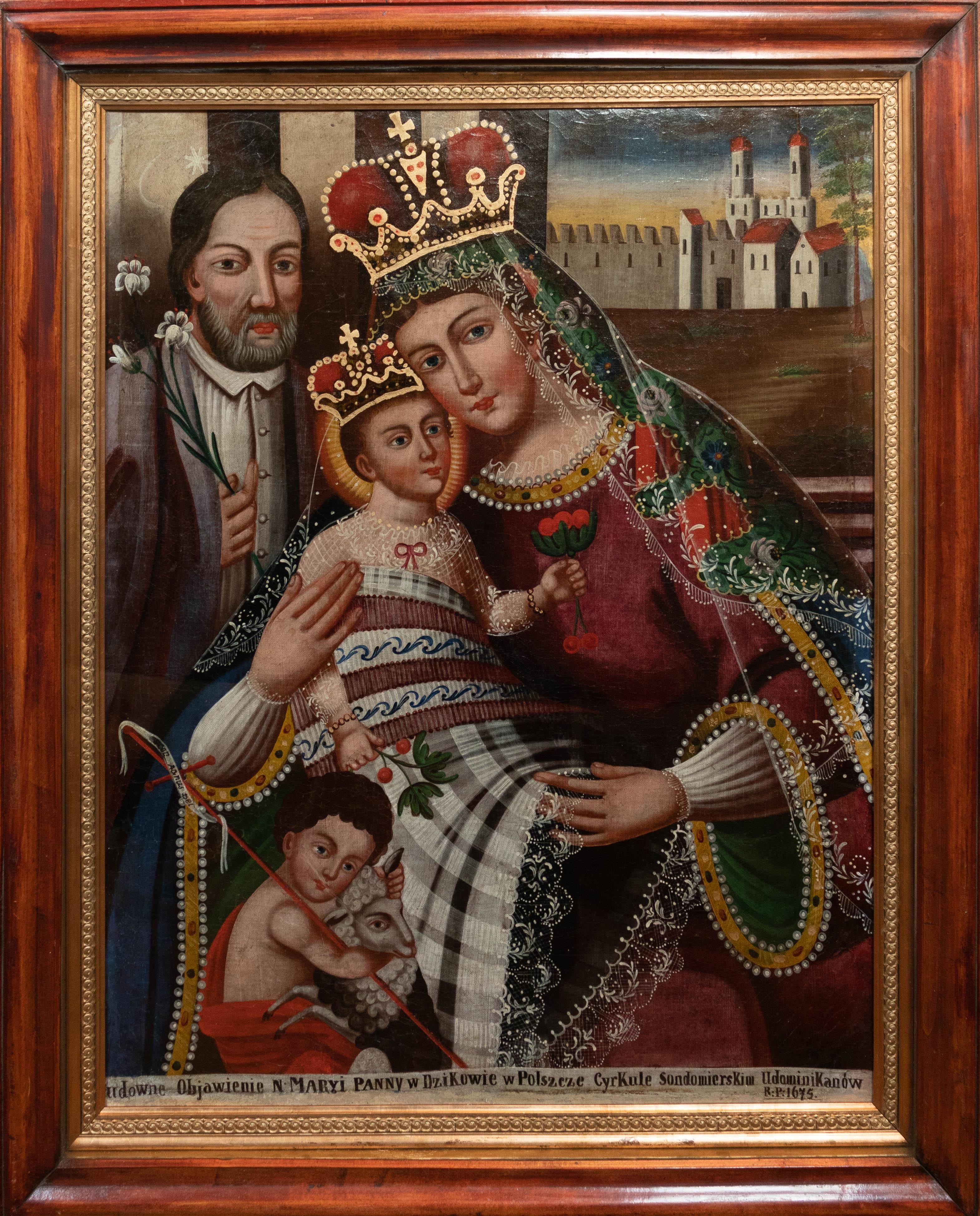 """Wincenty Chrząstkiewicz (1821-1889)? """"Matka Boska Dzikowska"""", źródło: archiwum autora"""