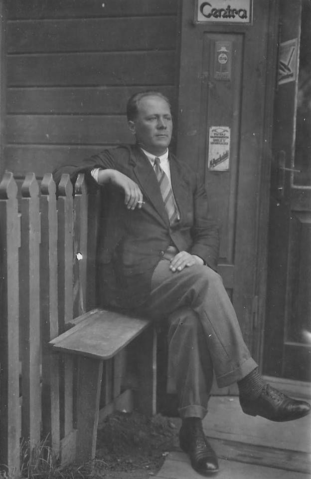Edmund Monsiel, lata 30. XX wieku, źródło: archiwum rodziny