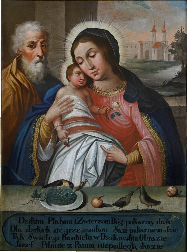 Obraz Matki Bożej Chorzelowskiej, źródło: chorzelow.diecezja.tarnow.pl