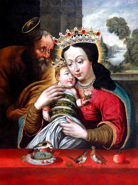 Obraz Matki Bożej Dzikowskiej z Tarnobrzegu, źródło: wikipedia.pl