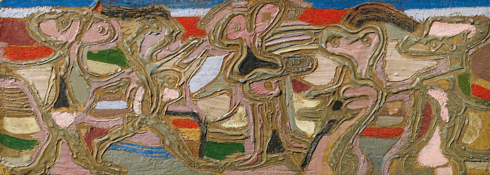 """Jankiel Adler (1895-1949) """"Fryz"""", źródło: Van Ham Kunstauktionen"""