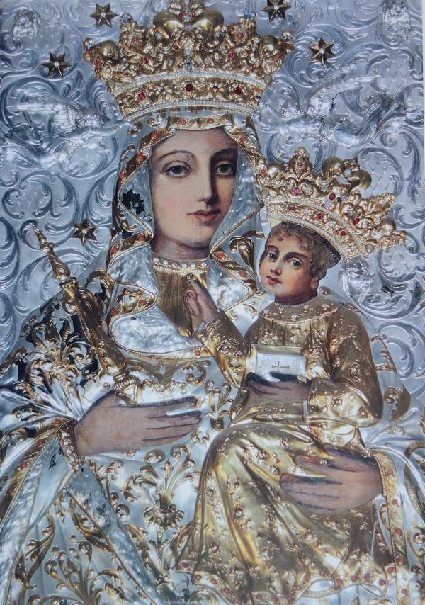 """""""Matka Boska Bogucicka"""", źródło: parafia-bogucice.pl"""