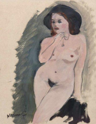 """Janusz Maria Brzeski (1907-1957) """"Akt stojący"""""""