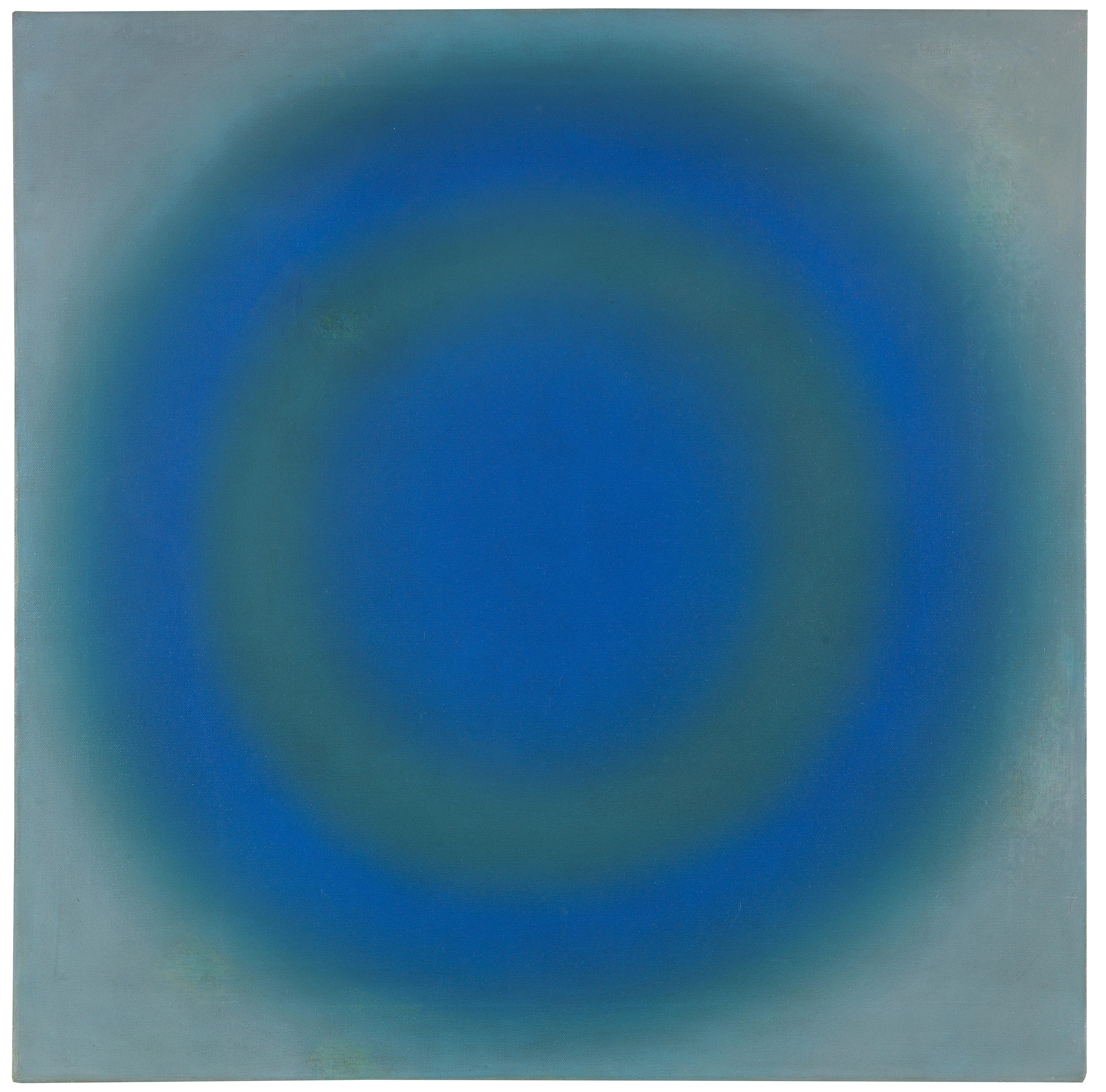 """Wojciech Fangor (1922-2015) """"B65"""", źródło: Ketterer Kunst"""
