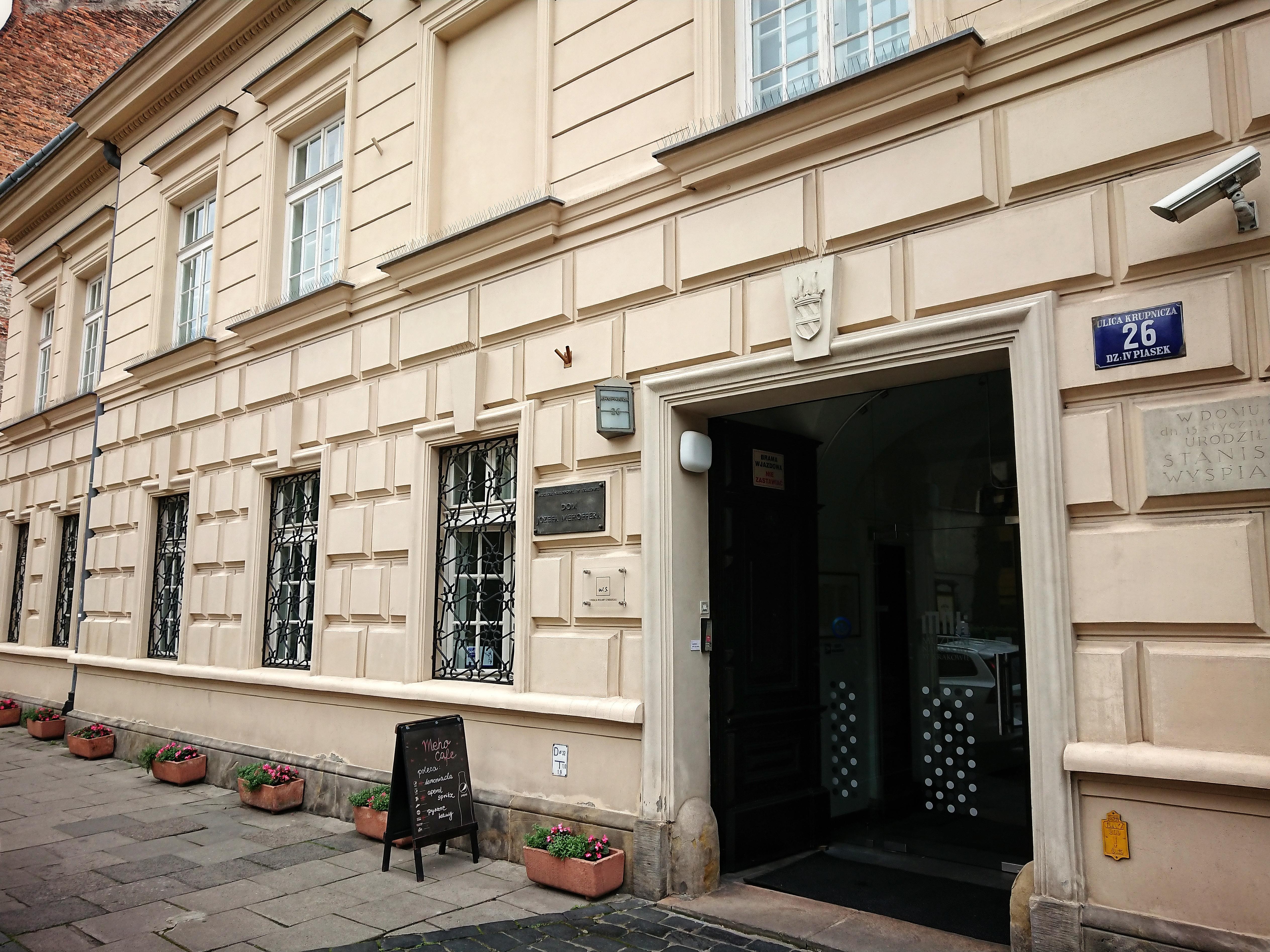 Aktualny wygląd fasady domu przy ulicy Krupniczej 26, źródło: archiwum autorki