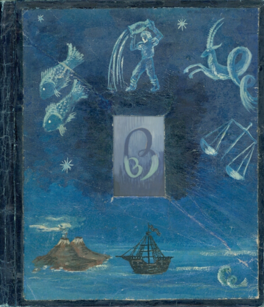 """Krzysztof Kamil Baczyński (1921-1944), okładka poematu """"Serce jak obłok"""", źródło: Biblioteka Narodowa"""