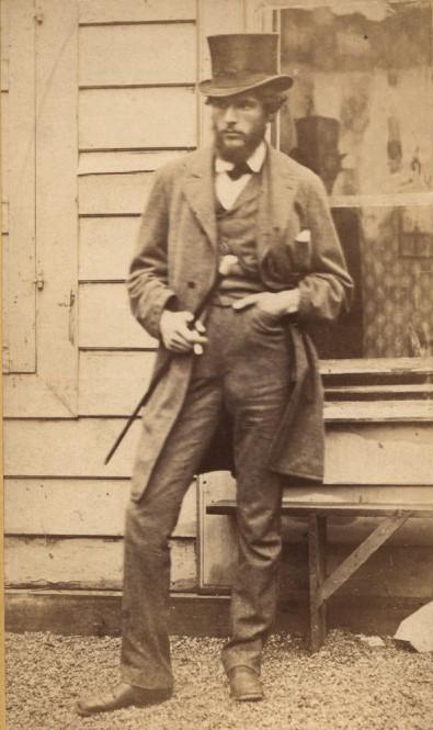 Fotografia portretowa Maksymiliana Gierymskiego, źródło: Muzeum im. Jacka Malczewskiego w Radomiu