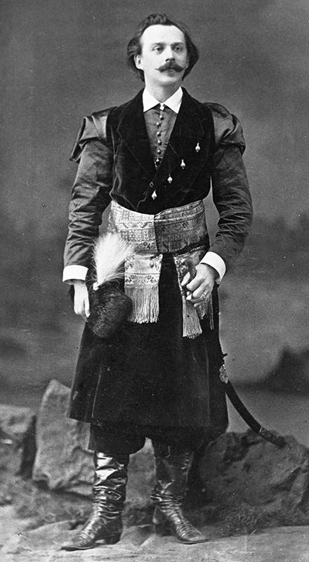 Tomasz Pryliński - zdjęcie wykonane przez Walerego Rzewuskiego, źródło: Narodowe Archiwum Cyfrowe