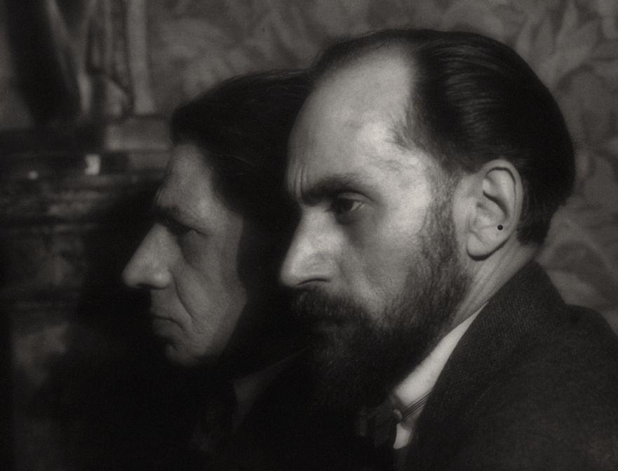 Bracia Zbigniew i Andrzej Pronaszkowie sfotografowani w 1924 roku, źródło: Biblioteka Jagiellońska