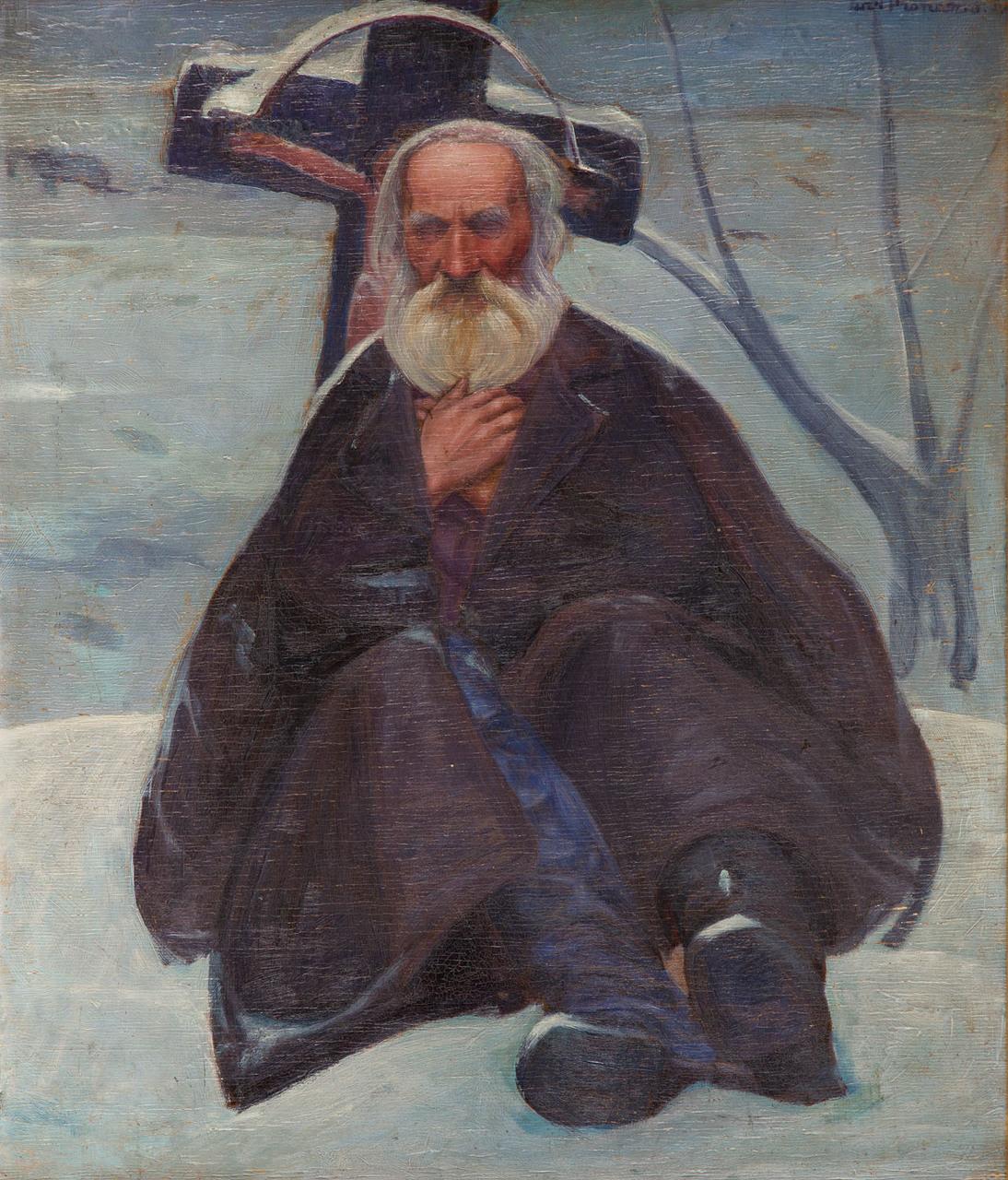 We wczesnym okresie ok. 1908 roku) Pronaszko tworzył pod wpływem malarstwa Jacka Malczewskiego, źródło: Desa Unicum